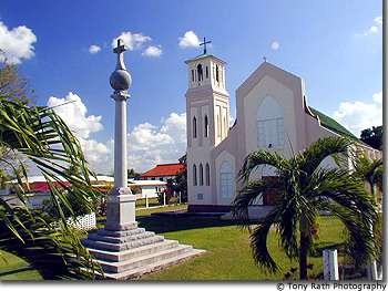 Church in Orange Walk